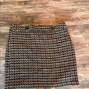 Ann Taylor mini skirt!